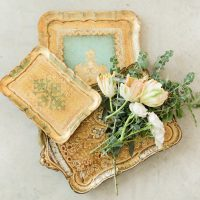Florentine Trays Dixie Does Vintage
