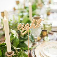 Tablescape Dixie Does vintage
