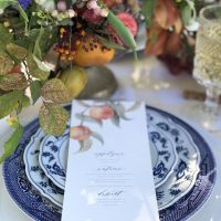Dixie Does Vintage Blue China