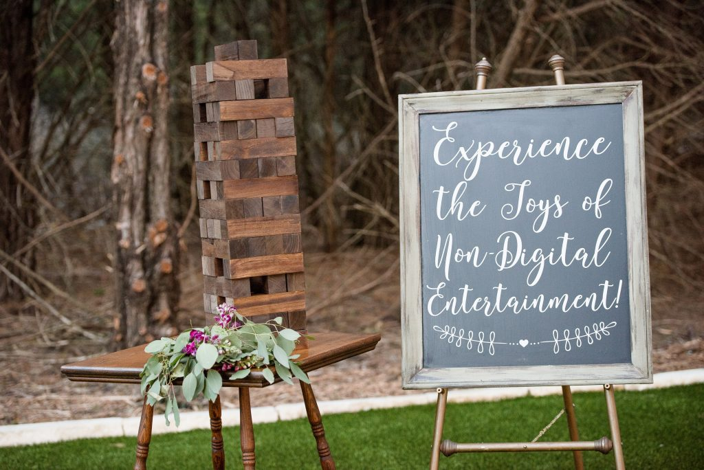 Outdoor Wedding Lawn Games from Dixie Does Vintage in Dallas Tx photo by Love Abides Photography