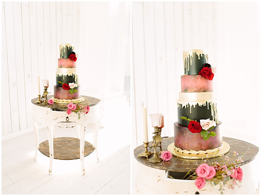 Wedding Cake Table Dixie Does Vintage