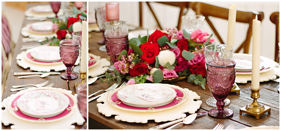 Dusty Rose Wedding Decor Ideas And Romantic Modern Vintage Weddings