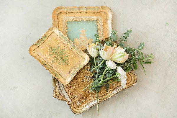 Florentine Trays Dixie Does Vintage