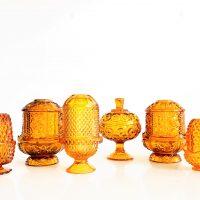 amber votive lamps