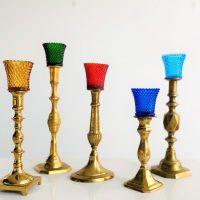 votive candlestick rental