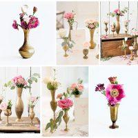 bud vase floral centerpieces