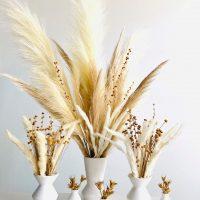 boho floral centerpiece